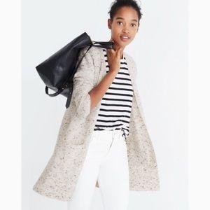 Madewell | Gray Donegal Kent Cardigan Sweater XXS